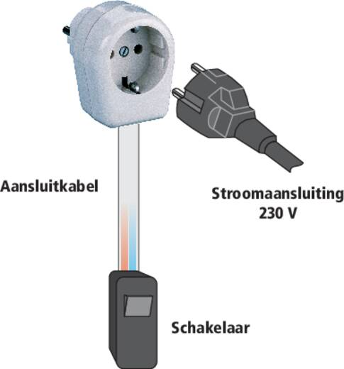 Tussenstekker Kunststof 230 V Wit IP20 Kopp 1704001007