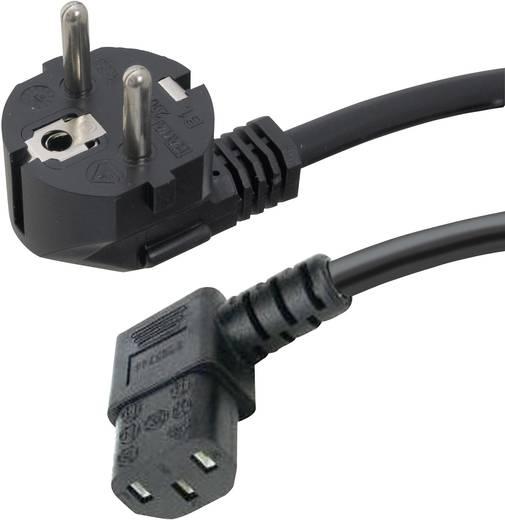 HAWA 1008236 Apparaat Aansluitkabel [ Randaarde stekker - Apparaatstekker, female C13 10A] Zwart 2 m