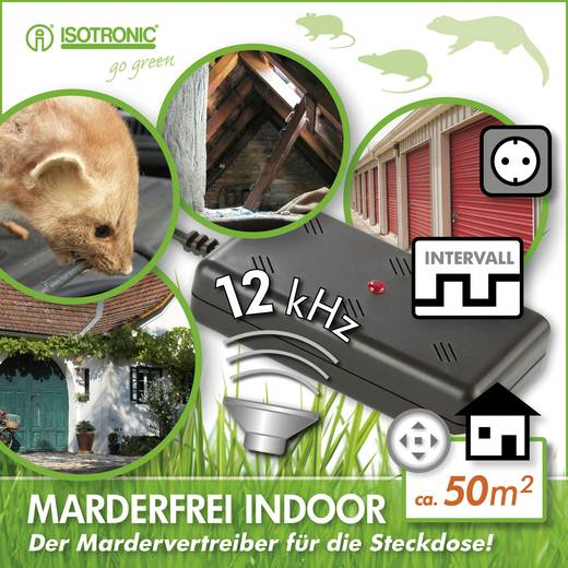 Marterverjager voor in huis Isotronic Martervrij indoor