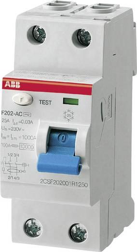 Aardlekschakelaar 2-polig 25 A 0.03 A 230 V ABB 2CSF202101R1250