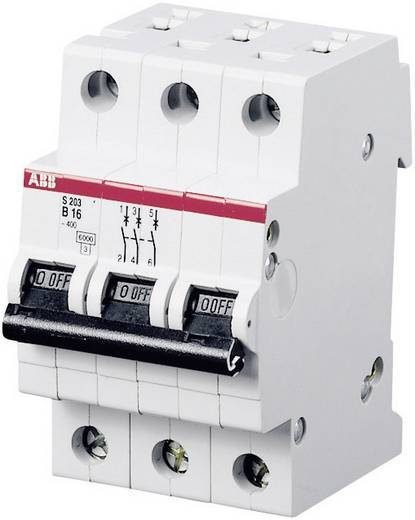 6 kA Automaat 3-polig B kar 13A