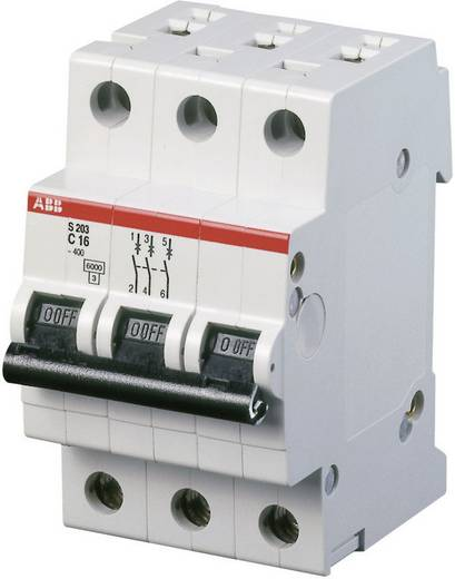 Zekeringautomaat 3-polig 32 A ABB 2CDS253001R0324