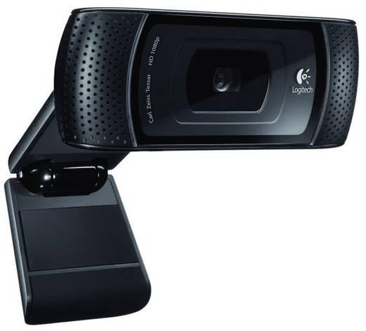 HD-webcam 1280 x 720 pix Logitech Logitech B910 HD-webcam Standvoet, Klemhouder