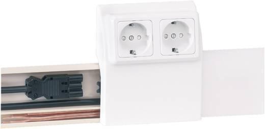 Elektro plintsysteem Kabelgoot 2000 mm 75080 Wit