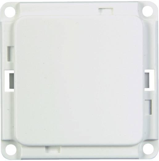 Blindplaat voor plintsysteem Wit