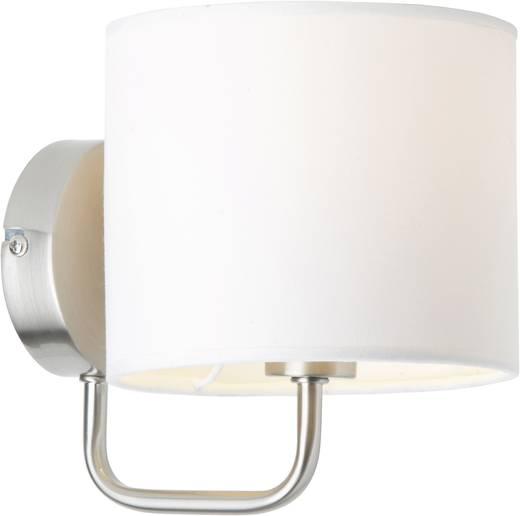 Brilliant Sandra 85010/75 Wandlamp E14 40 W Halogeen, Spaarlamp Wit, Chroom