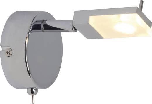 Brilliant Hajo LED-wandlamp 3 W Warm-wit G16411/15 Chroom, Wit