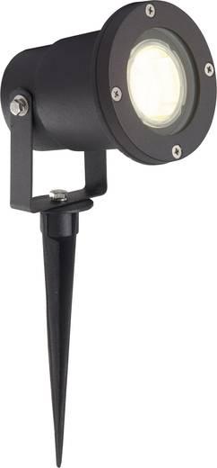 Brilliant Buitenlamp met grondspies Scott G96189/06 Hoogspanningshalogeenreflector Zwart GU10