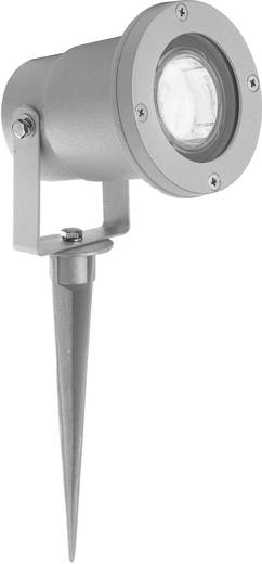 Brilliant Buitenlamp met grondspies Scott G96189/22 Hoogspanningshalogeenreflector Grijs GU10