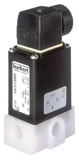 Bürkert 61077 3/2-weg Direct bedienbaar ventiel 24 V/DC G 1/4 mof Nominale breedte 4 mm Materiaal (behuizing) Polypropyleen Afdichtmateriaal FKM