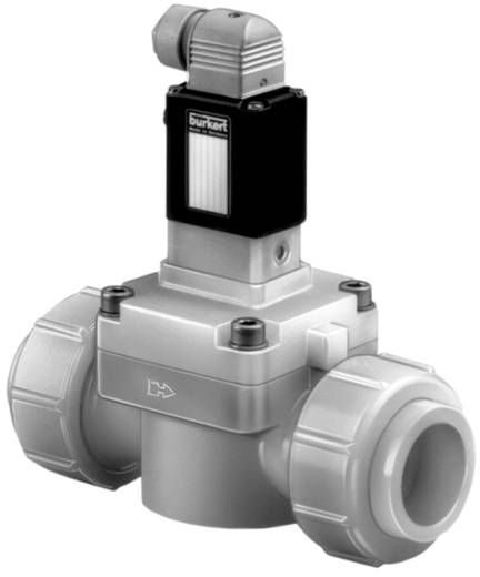 Bürkert 41980 2/2-weg Servogestuurd ventiel 24 V/DC Materiaal (behuizing) PVC Afdichtmateriaal EPDM