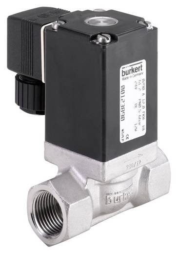 Bürkert 53595 2/2-weg Direct bedienbaar ventiel 24 V/DC G 1/2 mof Materiaal (behuizing) RVS Afdichtmateriaal NBR