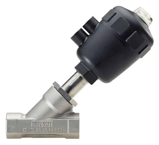 Bürkert 186376 Luchtgestuurd ventiel 2/2-weg G 1/2 mof Materiaal (behuizing) RVS Afdichtmateriaal PFTE