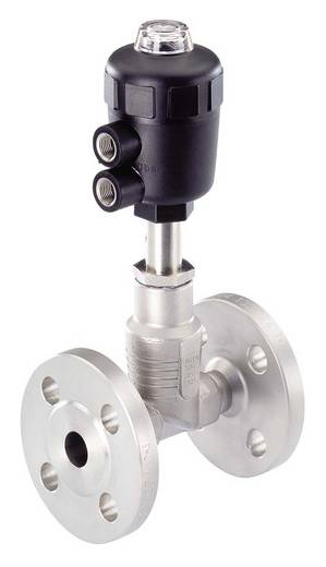 Bürkert 146314 2/2-weg Luchtgestuurd ventiel Materiaal (behuizing) RVS Afdichtmateriaal PFTE