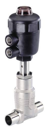 Bürkert 155551 2/2-weg Luchtgestuurd ventiel Materiaal (behuizing) RVS Afdichtmateriaal PFTE