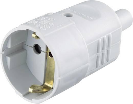 Koppeling met randaarde PVC 230 V Grijs IP20 624404