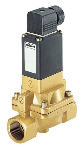 Bürkert 134433 2/2-weg Servogestuurd ventiel 230 V/AC G 1/2 mof Nominale breedte 13 mm Materiaal (behuizing) Messing Afdichtmateriaal NBR