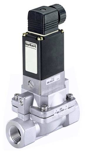 Bürkert 220291 2/2-weg Servogestuurd ventiel 24 V/DC G 1/2 mof Nominale breedte 13 mm Materiaal (behuizing) RVS Afdichtmateriaal FKM