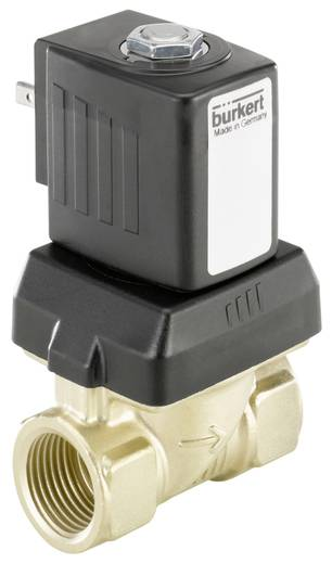 Bürkert 221653 2/2-weg Servogestuurd ventiel 230 V/AC G 1/2 mof Nominale breedte 10 mm Materiaal (behuizing) Messing Afd