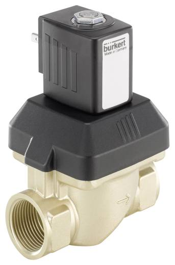 Bürkert 221638 2/2-weg Servogestuurd ventiel 24 V/DC G 3/4 mof Nominale breedte 20 mm Materiaal (behuizing) Messing Afdichtmateriaal FKM