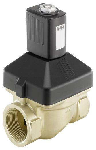 Bürkert 227724 2/2-weg Servogestuurd ventiel 24 V/AC G 1 1/2 mof Nominale breedte 40 mm Materiaal (behuizing) Messing Af