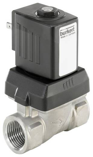 Bürkert 221761 2/2-weg Servogestuurd ventiel 230 V/AC G 3/8 mof Nominale breedte 10 mm Materiaal (behuizing) RVS Afdicht