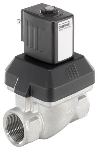 Bürkert 222174 2/2-weg Servogestuurd ventiel 24 V/DC G 3/4 mof Nominale breedte 20 mm Materiaal (behuizing) RVS Afdichtmateriaal EPDM
