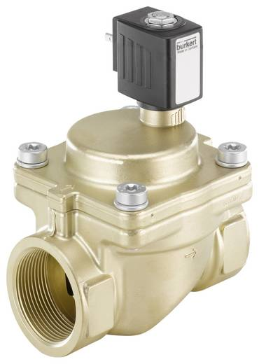 Bürkert 221916 2/2-weg Servogestuurd ventiel 24 V/DC G 1 1/2 mof Nominale breedte 40 mm Materiaal (behuizing) Messing Afdichtmateriaal EPDM