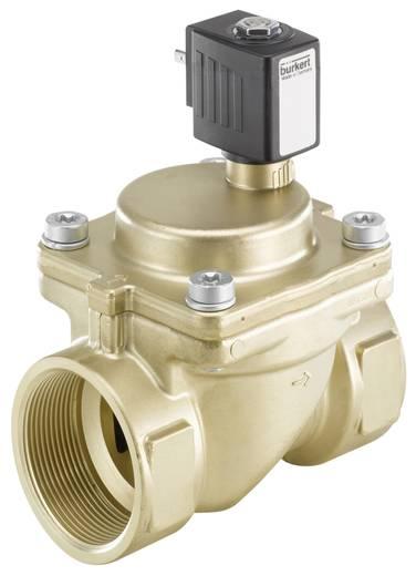 Bürkert 221950 2/2-weg Servogestuurd ventiel 24 V/AC G 2 mof Nominale breedte 40 mm Materiaal (behuizing) Messing Afdichtmateriaal NBR