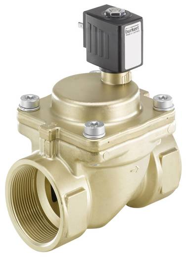 Bürkert 221967 2/2-weg Servogestuurd ventiel 230 V/AC G 2 mof Nominale breedte 40 mm Materiaal (behuizing) Messing Afdic