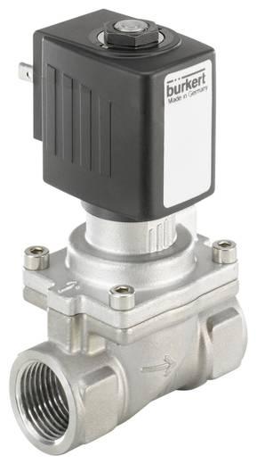 Bürkert 221989 2/2-weg Servogestuurd ventiel 24 V/DC G 1/2 mof Nominale breedte 13 mm Materiaal (behuizing) RVS Afdichtmateriaal FKM