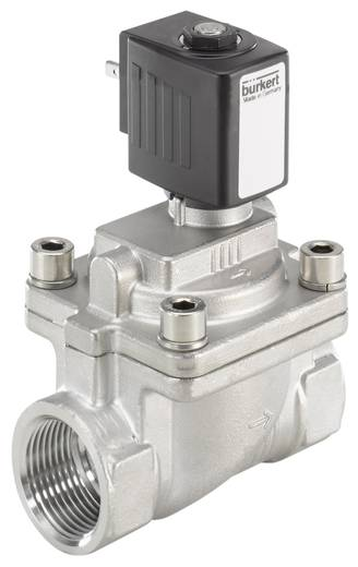 Bürkert 228393 2/2-weg Servogestuurd ventiel 24 V/DC G 1 mof Nominale breedte 25 mm Materiaal (behuizing) RVS Afdichtmateriaal FKM