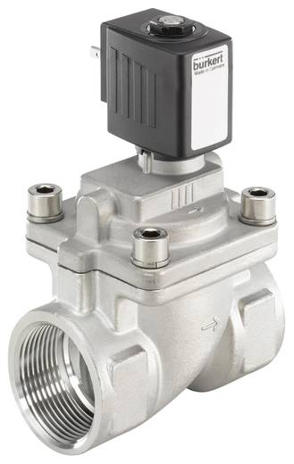 Bürkert 222003 2/2-weg Servogestuurd ventiel 230 V/AC G 1 1/4 mof Nominale breedte 25 mm Materiaal (behuizing) RVS Afdic