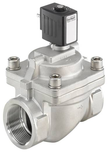 Bürkert 222027 2/2-weg Servogestuurd ventiel 230 V/AC G 1 1/2 mof Nominale breedte 40 mm Materiaal (behuizing) RVS Afdichtmateriaal EPDM