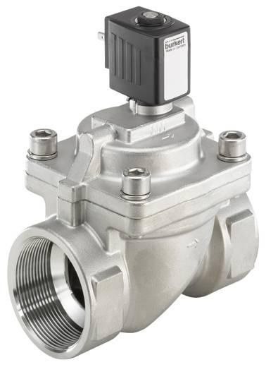 Bürkert 221986 2/2-weg Servogestuurd ventiel 24 V/DC G 2 mof Nominale breedte 40 mm Materiaal (behuizing) RVS Afdichtmateriaal NBR