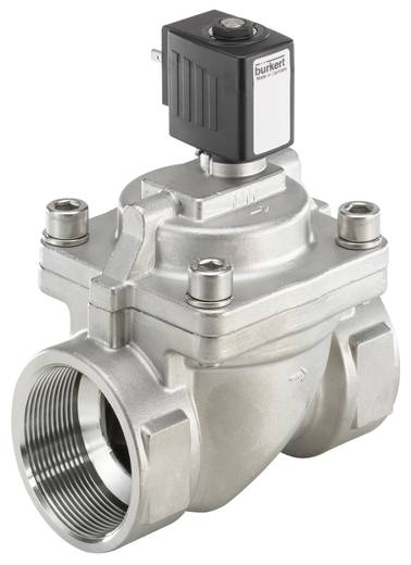 Bürkert 228402 2/2-weg Servogestuurd ventiel 24 V/DC G 2 mof Nominale breedte 40 mm Materiaal (behuizing) RVS Afdichtmateriaal FKM