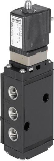 Bürkert 131423 Servogestuurd ventiel 5/2-weg of 3/2-weg 110 V/AC G 1/4 Nominale breedte 6 mm Materiaal (behuizing) Polyamide Afdichtmateriaal NBR, PUR 5/2- of 3/2-weg
