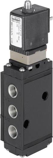 Bürkert 131428 Servogestuurd ventiel 5/2-weg of 3/2-weg 230 V/AC G 1/4 Nominale breedte 6 mm Materiaal (behuizing) Polyamide Afdichtmateriaal NBR, PUR 5/2- of 3/2-weg