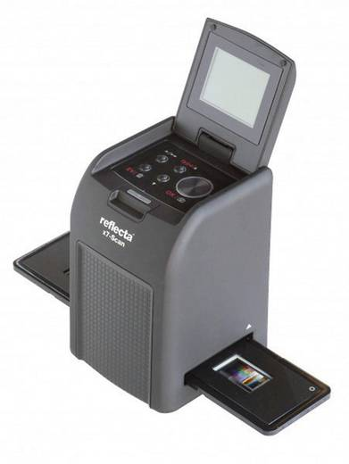 Reflecta X7-Scan Diascanner, Negatiefscanner 3200 dpi Stof- en krasverwijdering: Software Display, Geheugenkaartlezer, P