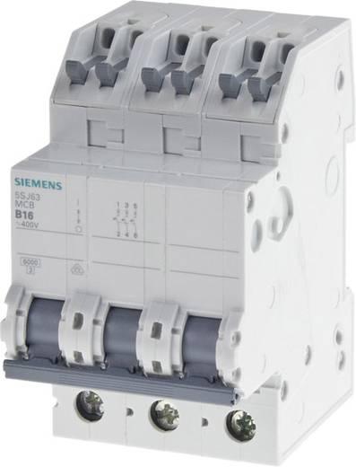 Zekeringautomaat 3-polig 16 A Siemens 5SJ63166KS