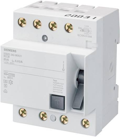Aardlekschakelaar 4-polig 40 A 0.03 A 400 V Siemens 5SM33446