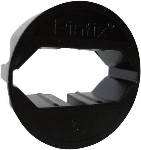 Pinfix 628044 Stekkeradapter Zwart