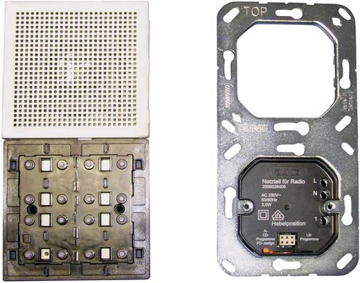 Jung Inbouw Inbouwradio LS 990, LS design, LS plus Alpine-wit RAN LS 914 WW