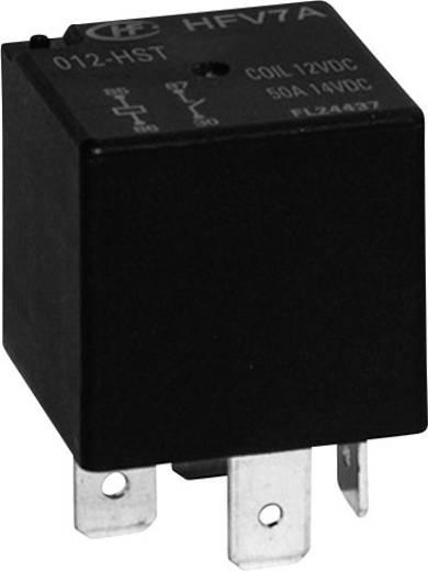 Auto-relais 12 V/DC 45 A 1x wisselaar Hongfa HFV7A/ 012-Z4TR