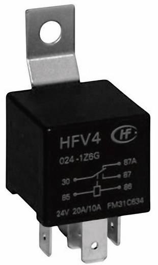 Auto-relais 24 V/DC 20 A 1x wisselaar Hongfa HFV4/024 -1Z5SGR