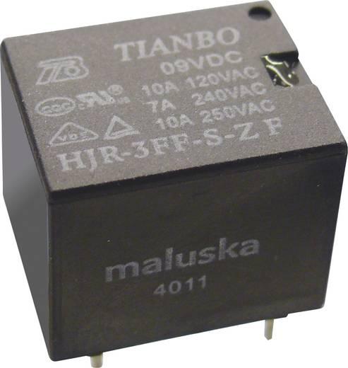 Tianbo Electronics HJR-3FF-12VDC-S-ZF Printrelais 12 V/DC 15 A 1x wisselaar 1 stuks