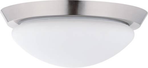 Badkamer plafondlamp Halogeen, Spaarlamp E27 60 W Paulmann Ixa 70300 IJzer (geborsteld), Opaal