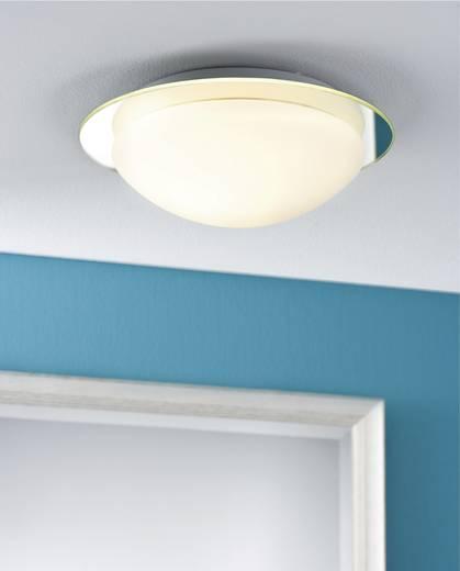 Badkamer wandlamp Halogeen, Spaarlamp E27 60 W Paulmann Mirfak 70348 Wit, Opaal