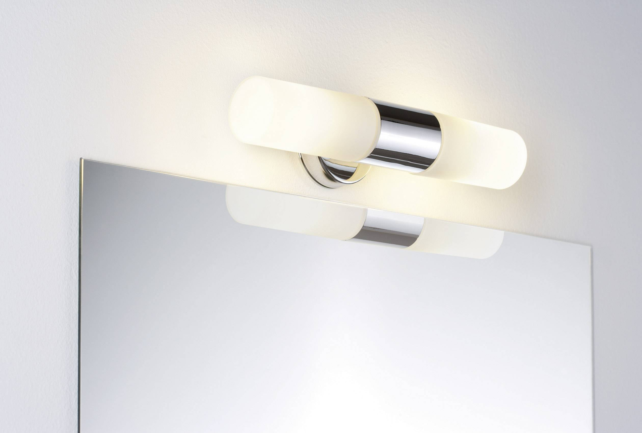 Spiegellamp Voor Badkamer : Badkamer wandlamp led halogeen e14 40 w paulmann lenia 70350 chroom