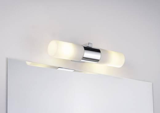 Badkamer wandlamp Halogeen, Spaarlamp E14 80 W Paulmann Gemini 70351 Chroom